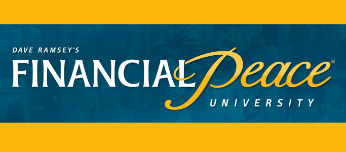 'Financial PEACE University' Starts Thursday, FEB 22 @ 6:30P! Do life God's way & be BLESSED!